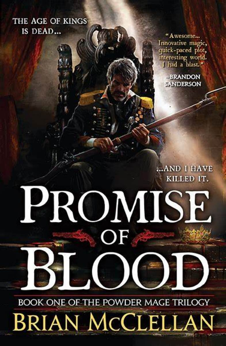 Cover art of Promise of Blood by Gene Mollica and Michael Frost.