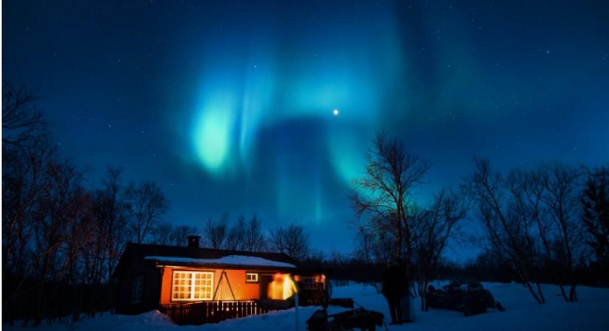 Spending a Night Under the Star Studded Sky - a Stirring Poem