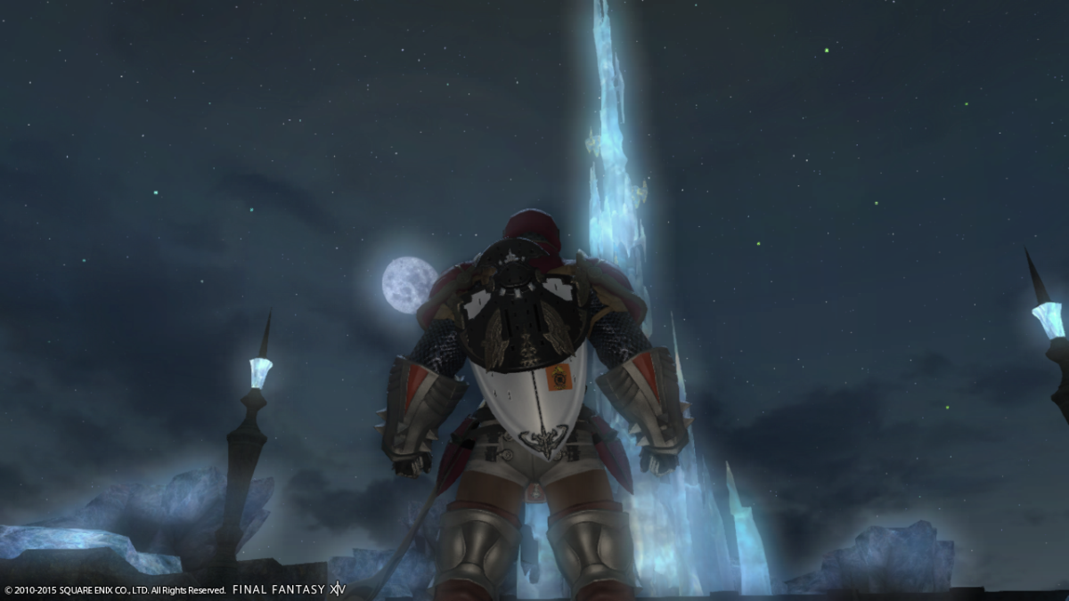 "Ah, ""Final Fantasy XIV"" A Realm Reborn. Those were the days, especially when climbing the Crystal Tower."
