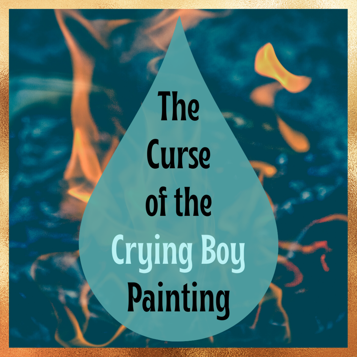 Learn about the supposed curse behind the Crying Boy Painting, a replica painting that was popular in the 1980s.