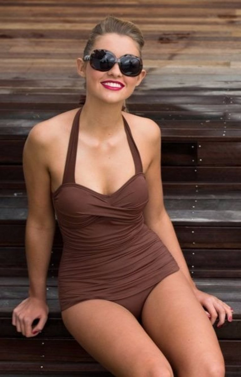 A one-piece swimsuit can be stylish and flattering. Get some tips on choosing a swimsuit that looks good on you.