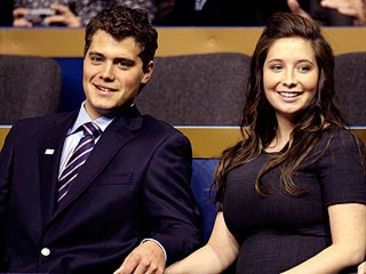 Bristol Palin, raised in a religious home, became pregnant as a teenager