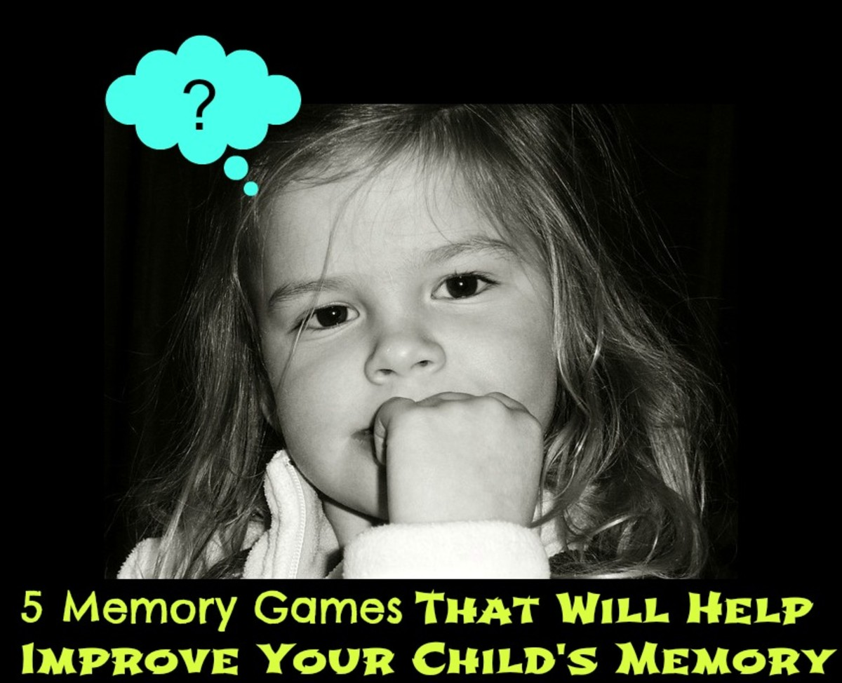Memory Games That Will Help Improve Your Child's Memory