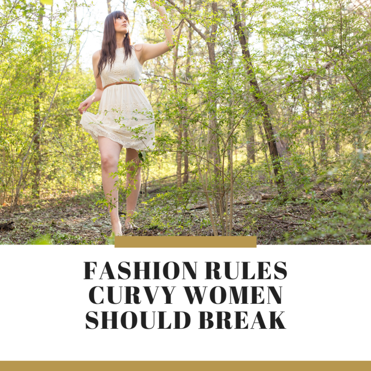 9 Fashion Rules Curvy and Plus Size Women Should Break