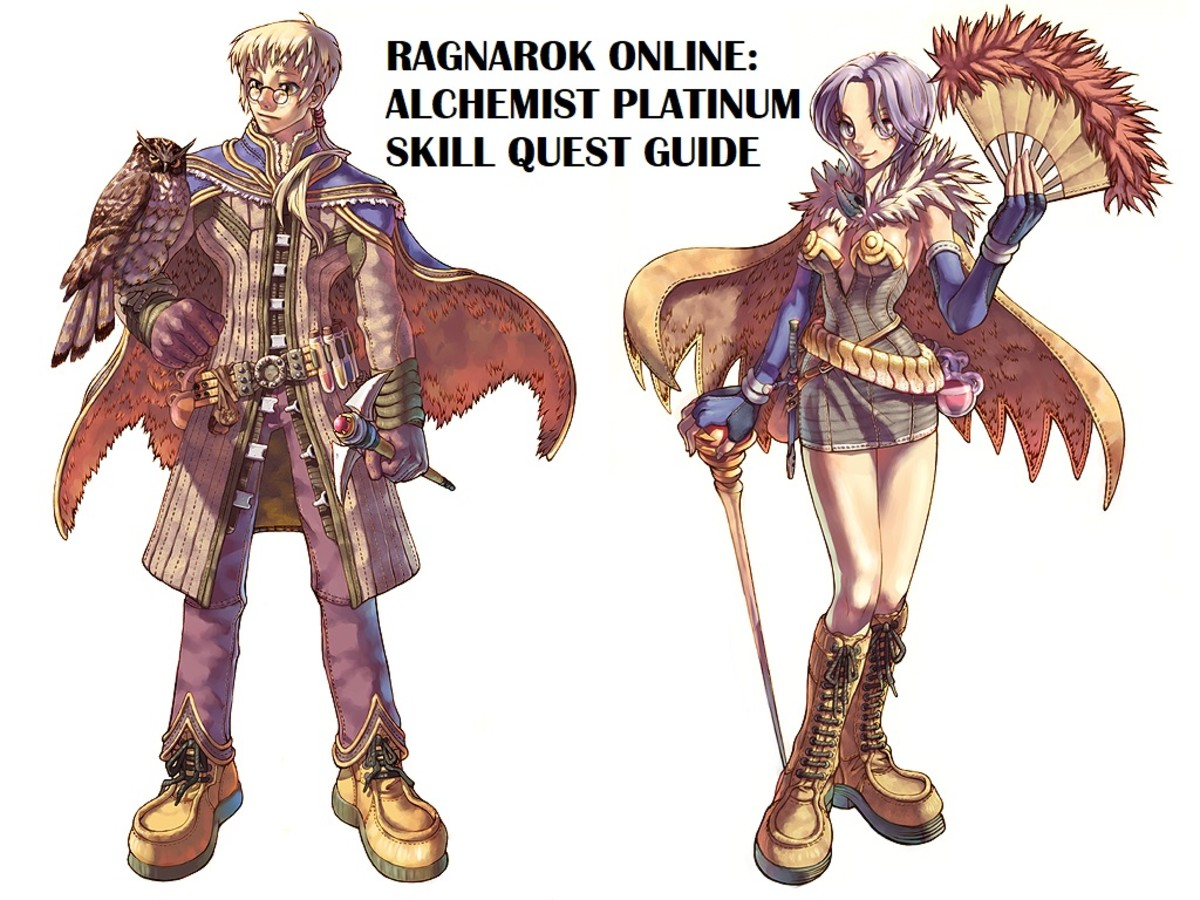 Ragnarok Online: Alchemist Platinum Skill Quest Guide
