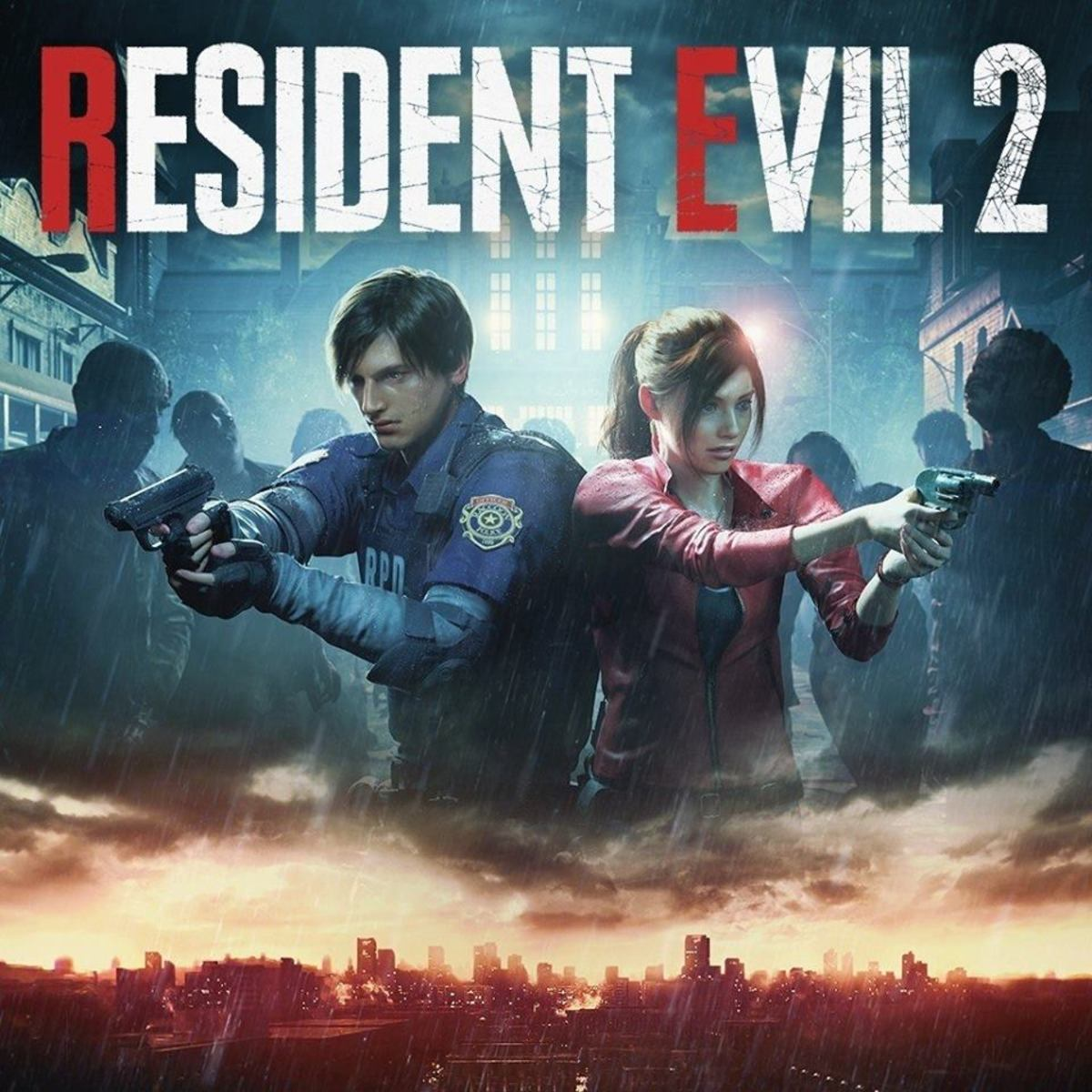 """""""Resident Evil 2"""" Cover Art"""