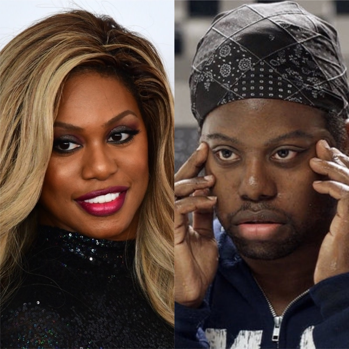 Laverne's twin brother played in Orange is the New Black