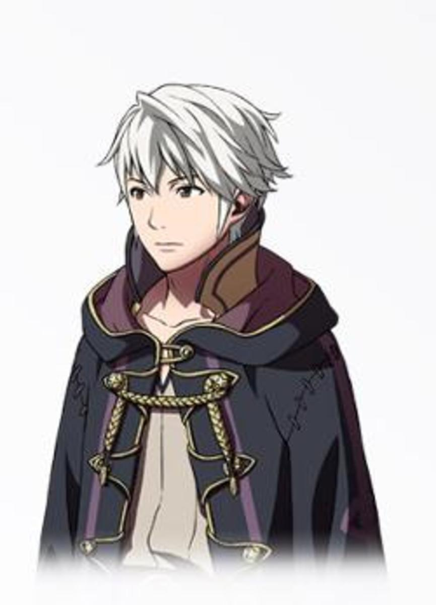One of the possible male My Units in Fire Emblem: Awakening.