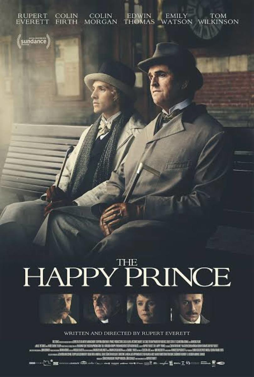 The Happy Prince (2018) film poster