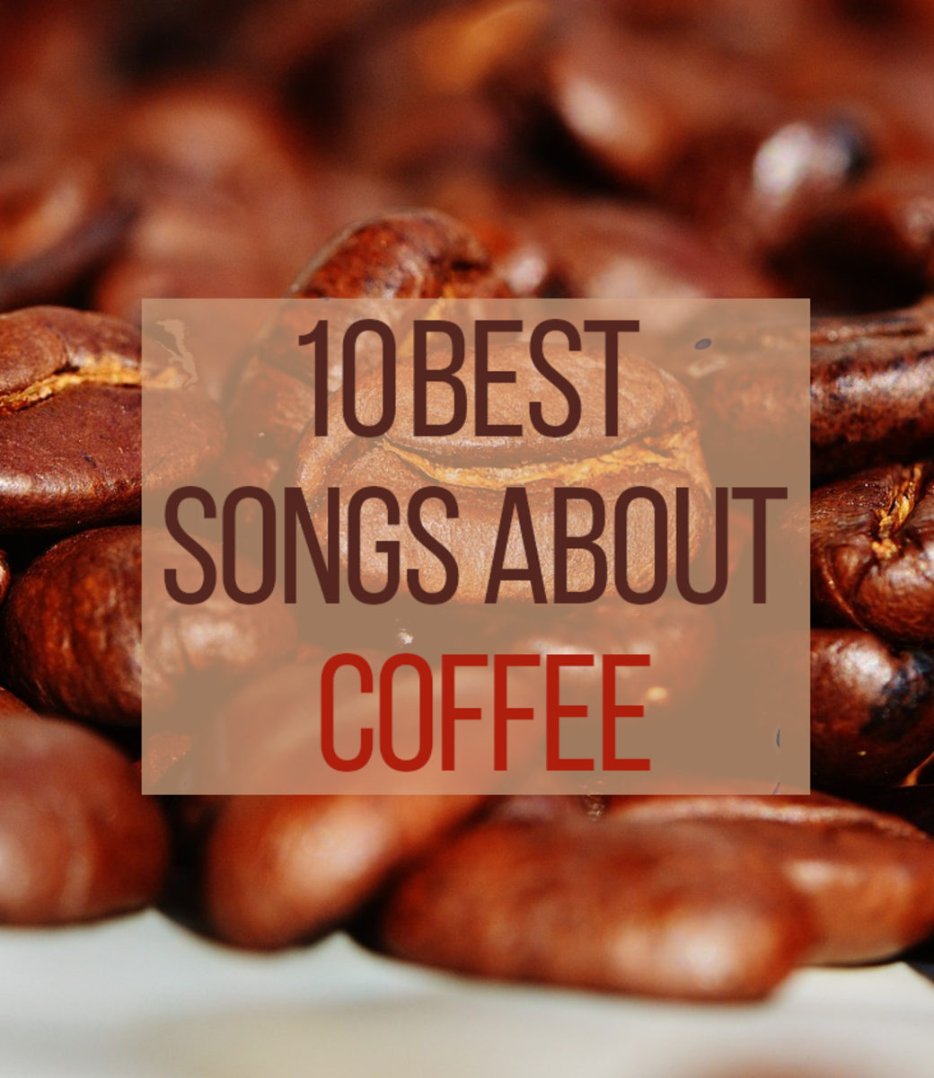 As well as making a tasty and enlivening beverage, coffee also makes great subject matter for many song lyrics.  Listed below are some of the best coffee songs.