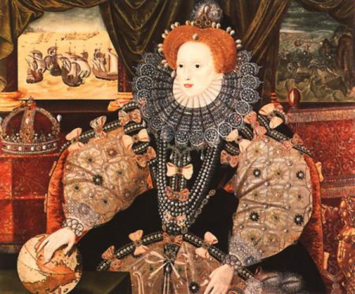 Elizabeth I met Irish queen Grace O'Malley in 1593.