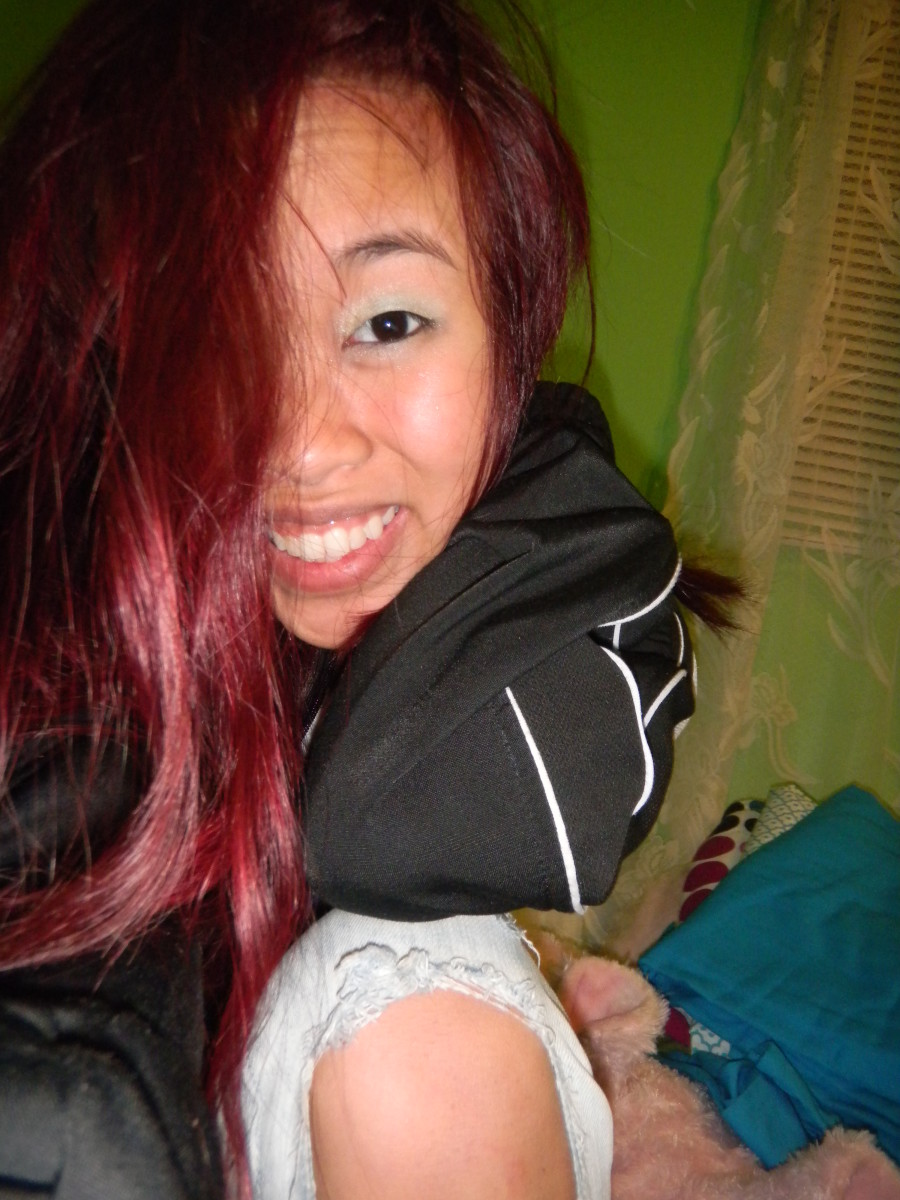 Me in red hair!