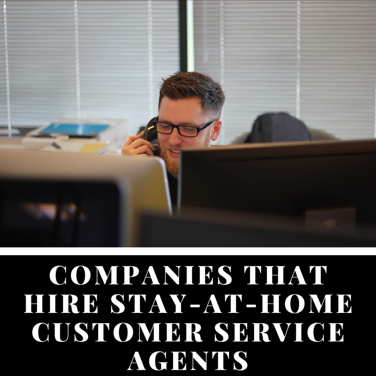 These companies all hire stay-at-home customer service agents.