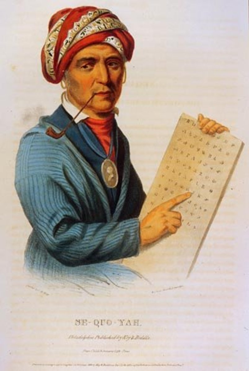 Famous Cherokee Indians: Sequoyah - A Literary genius