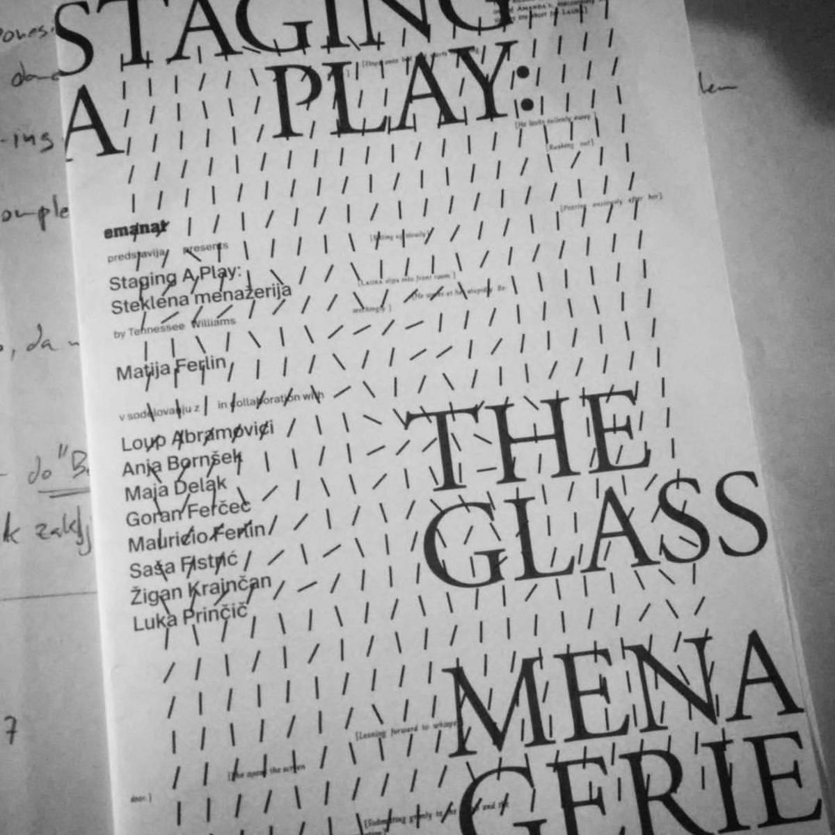Tennessee Williams and His Glass Menagerie