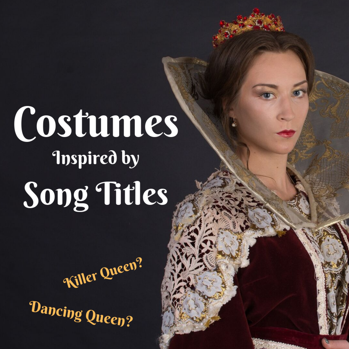 Costumes for a Song Title Theme Party