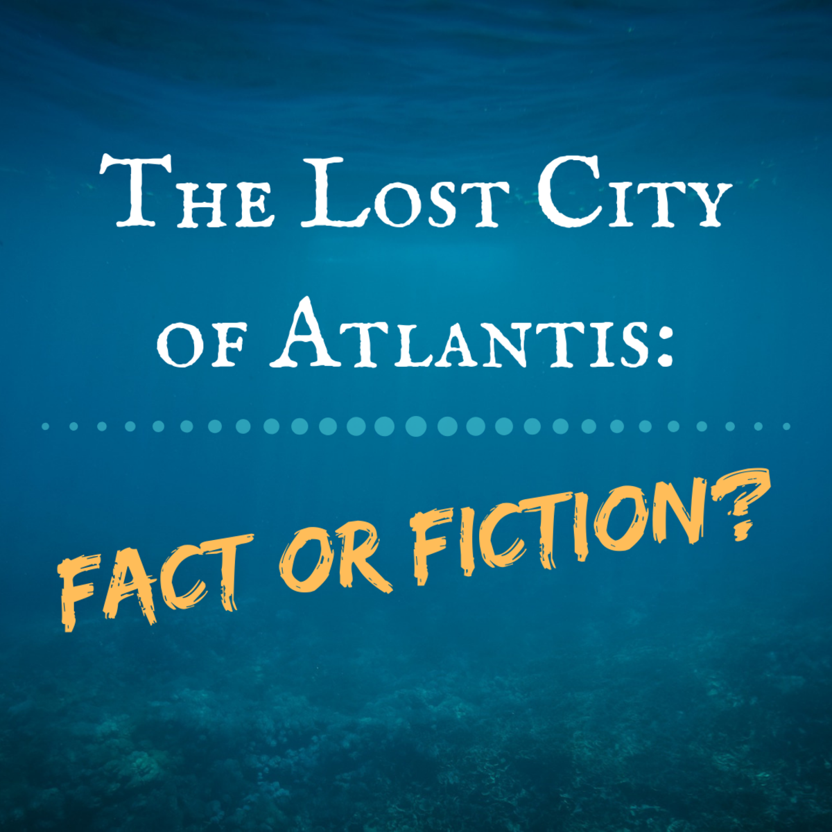 The Greek philosopher Plato wrote about Atlantis, but was his account factual or fictional?