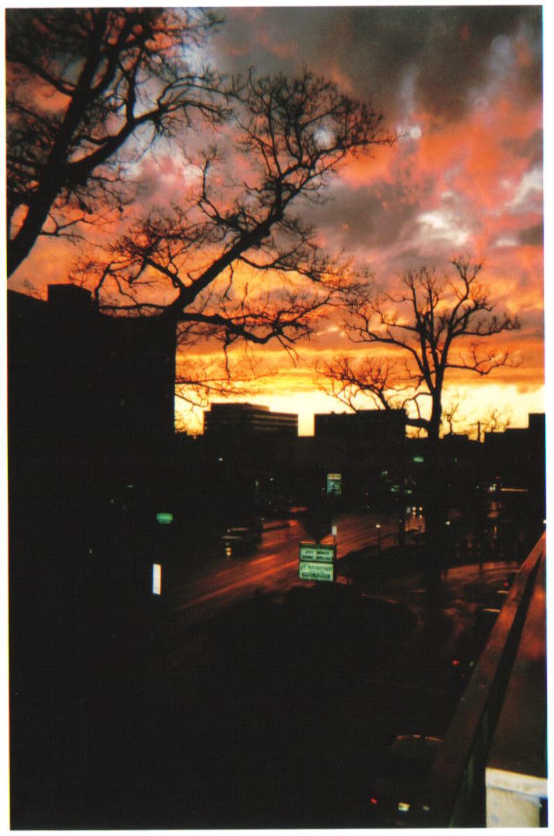 Towson after a storm.