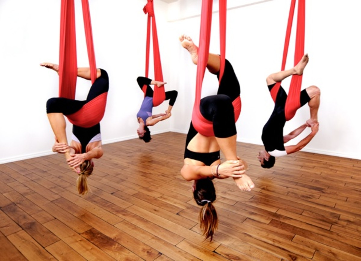 aerial yoga for beginners  benefits and tips aerial yoga for beginners  benefits and tips   caloriebee  rh   caloriebee