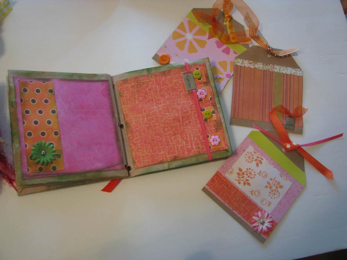 Best Friends Scrapbook Premade Paper Bag Mini Photo Album
