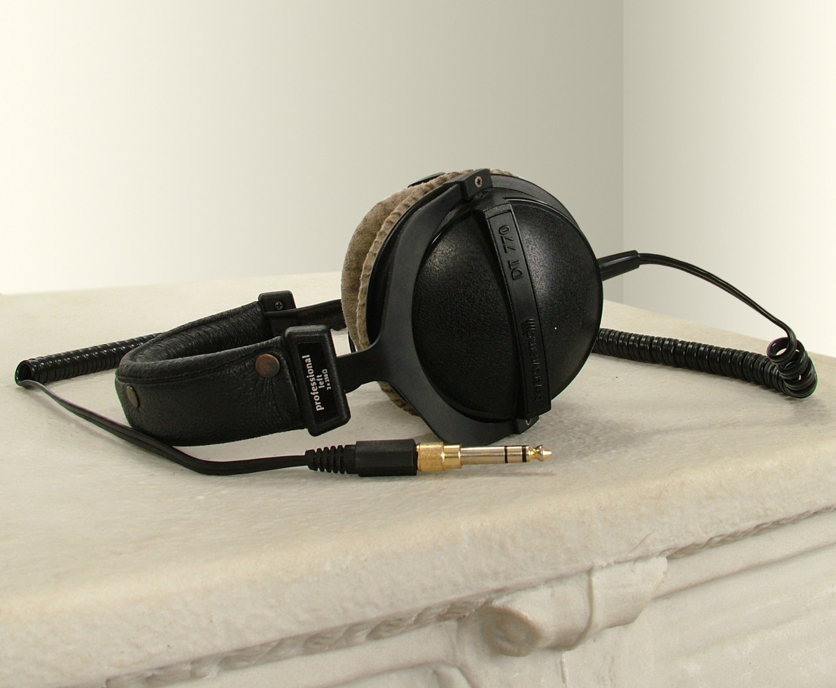Beyerdynamic DT 770 headphones sound great!