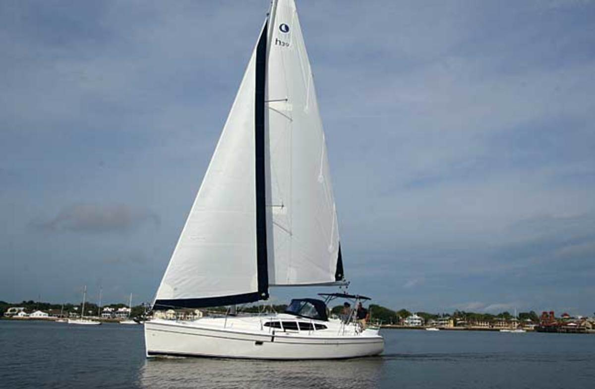 Sloop rigged sailboats (Bermuda Rig) is the most common sail rig and popular with racing sailboats as well.
