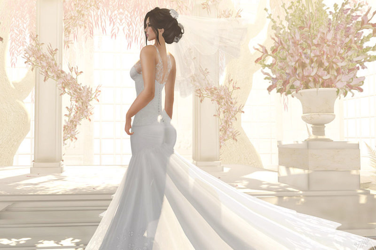 Luri Wedding Dress by Maai Details.