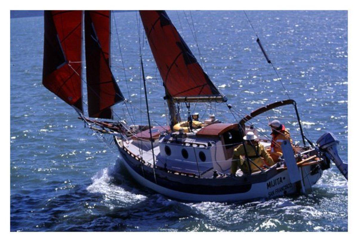 The Falmouth 22' Cutter: A Surprisingly Small Cruising Sailboat