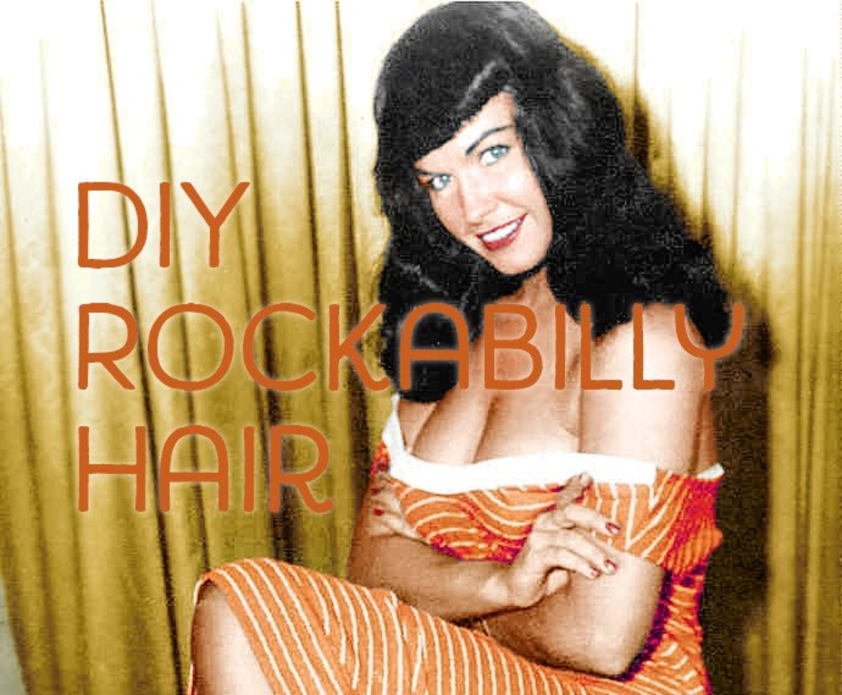 How to Do Rockabilly Pin-up Hairstyles