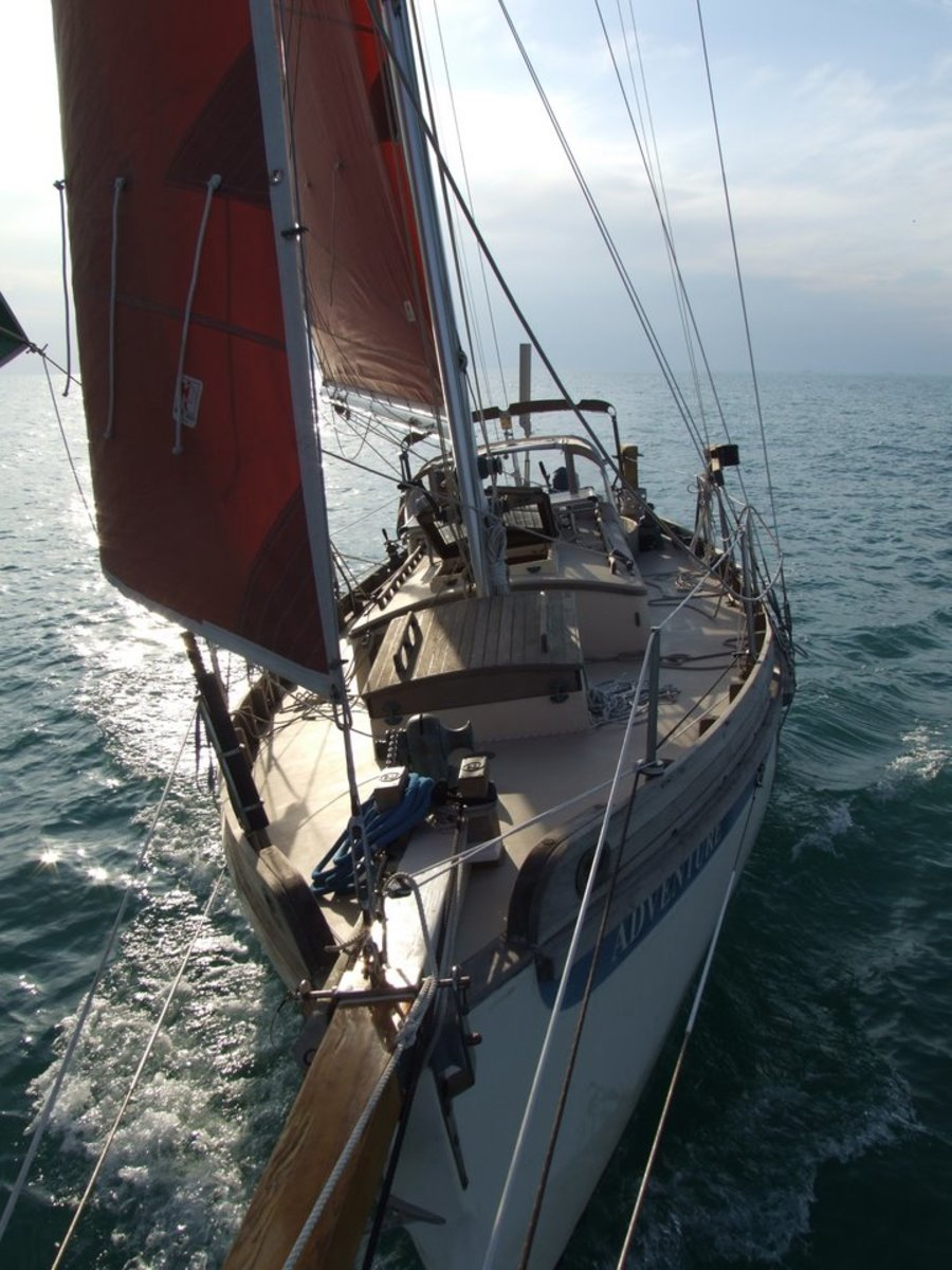 The BCC is one of the most beautiful small sailing vessels on the water today.