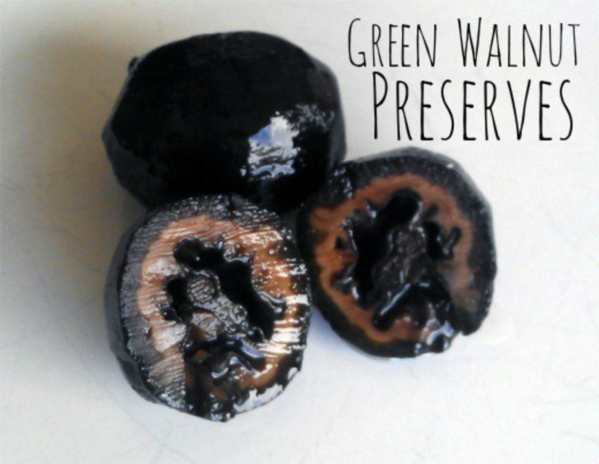 Green Walnut Preserves Recipe (with Pictures)