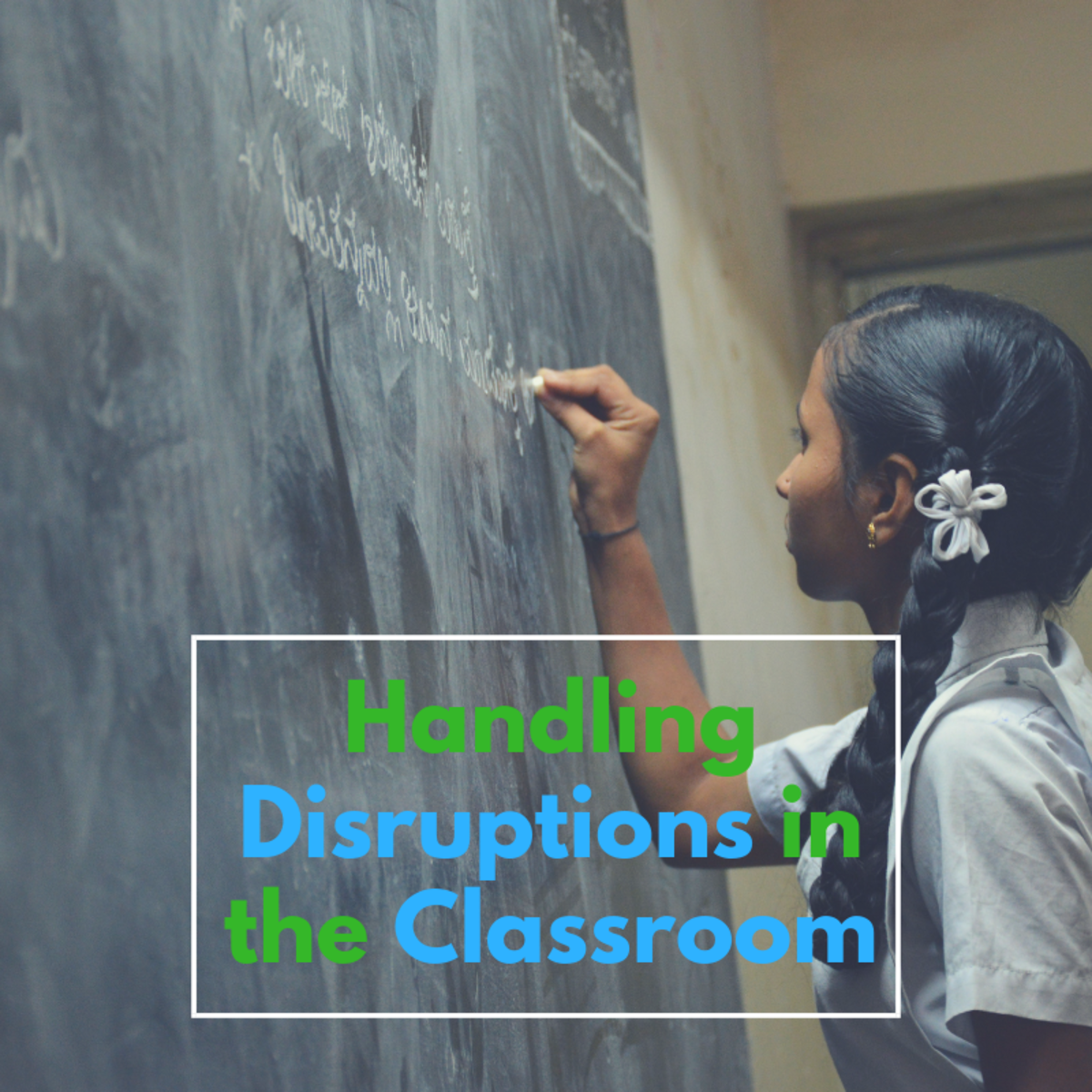 A part of lesson planning involves being prepared to deal with disruptions. This article will provide some insight into regaining control of your classroom.
