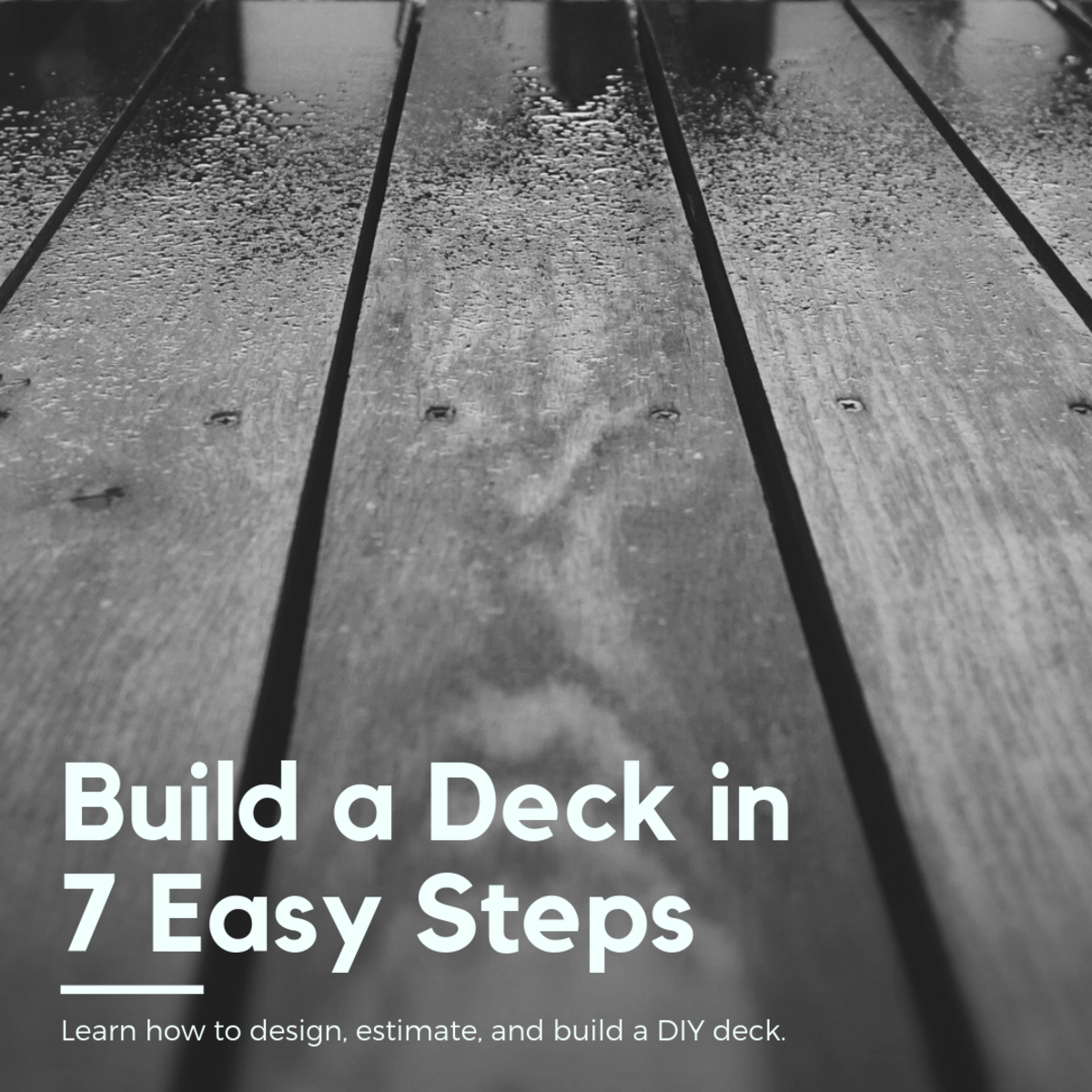 This article will break down the entire process of building your own deck in seven easy steps, including designing, estimating, and construction.