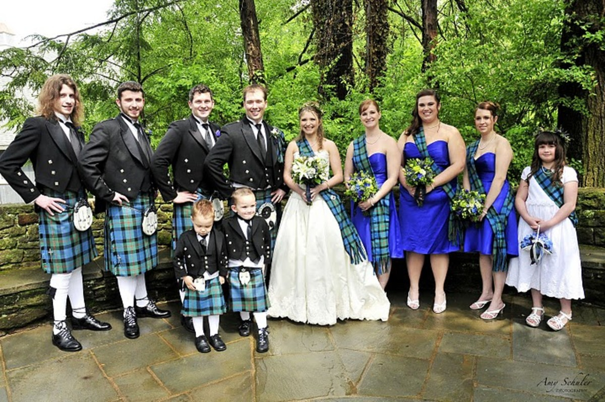 Ideas for How to Plan a Scottish Themed Wedding
