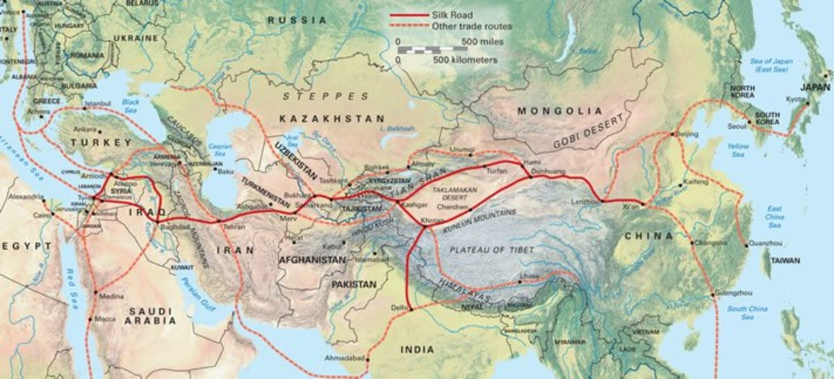 The Silk Road and Music: Trade, Connections, and Change