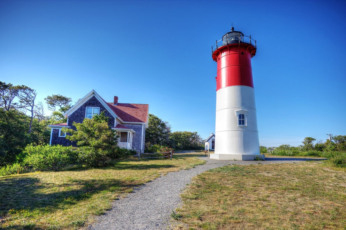 Nauset Beach Lighthouse: Logo for Famous Cape Cod Potato Chips
