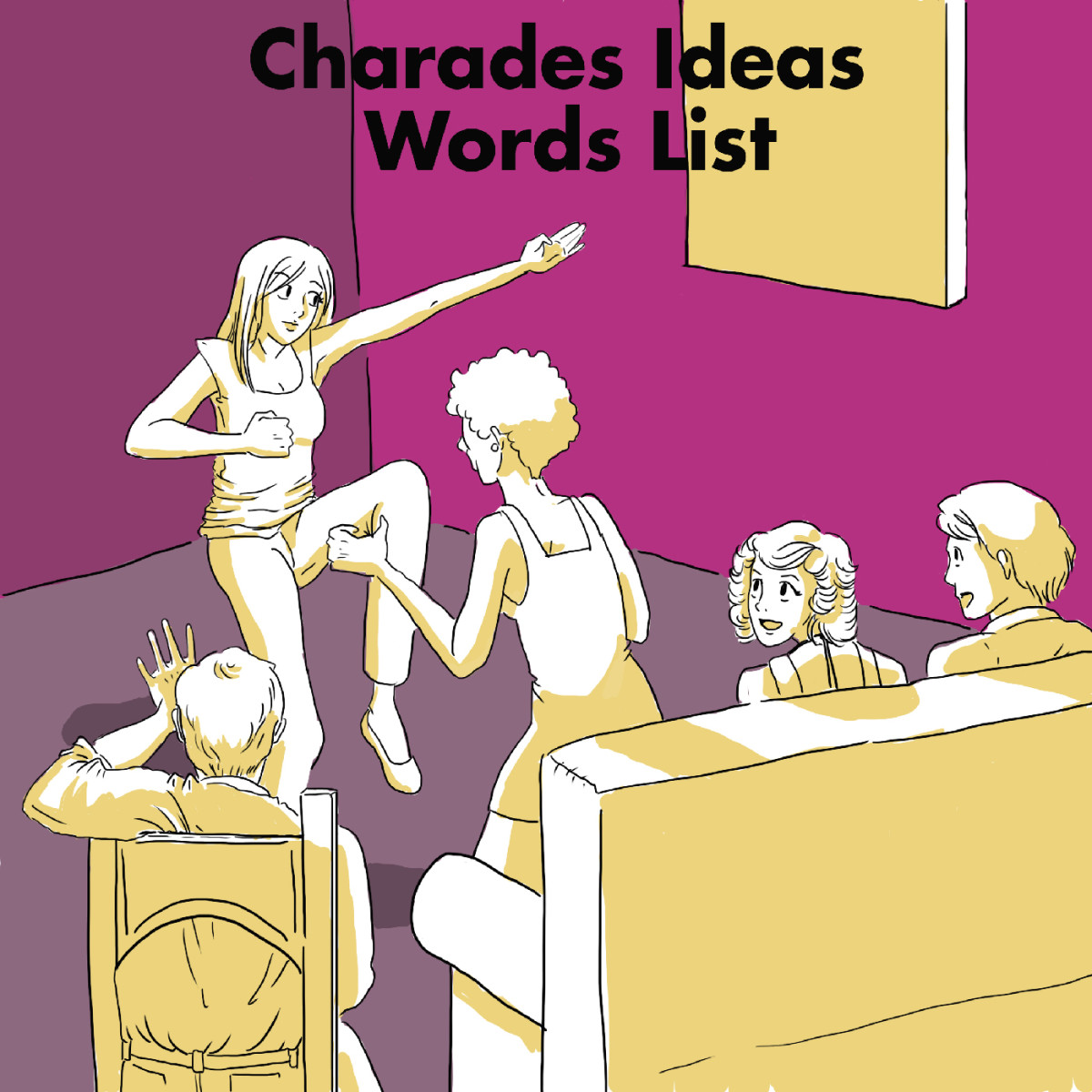 Find lots of ideas for topics and words to use in your next charades game. If you've forgotten the rules to the game, get a refresher here as well!