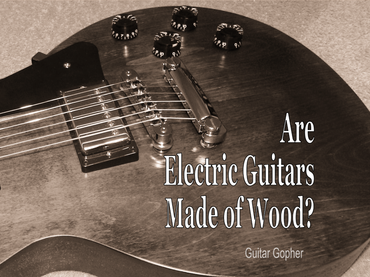 Are Electric Guitars Made  of Wood?