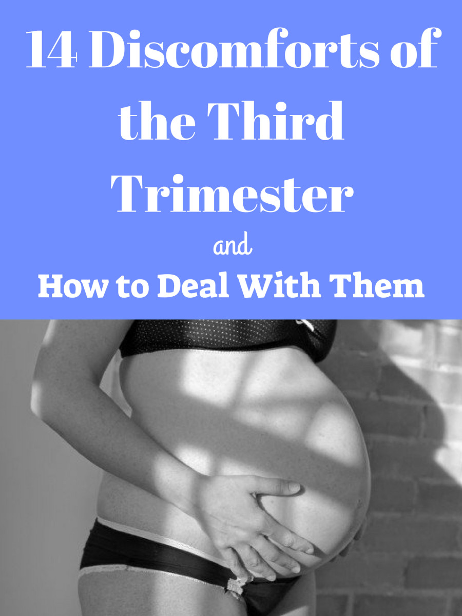 14 Discomforts of the Third Trimester of Pregnancy