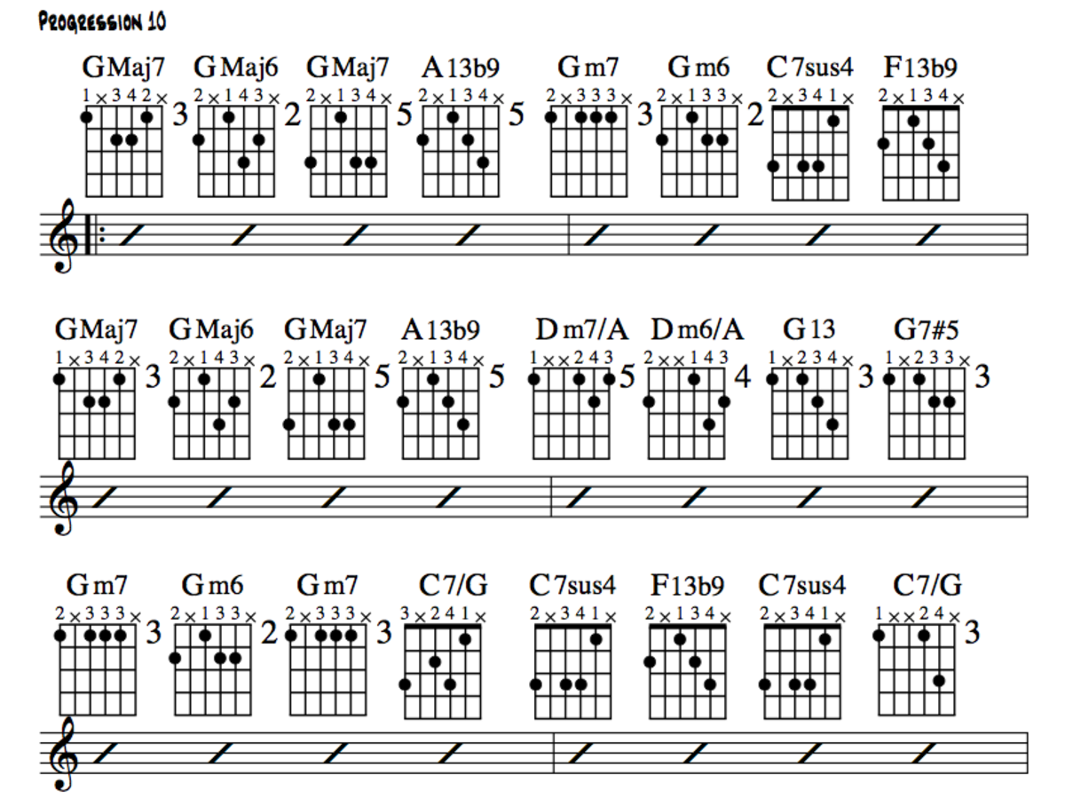 Jazz Guitar Lessons • Jazz Chord Substitution • Stormy Monday Variations • Chords, Charts, Theory, Videos