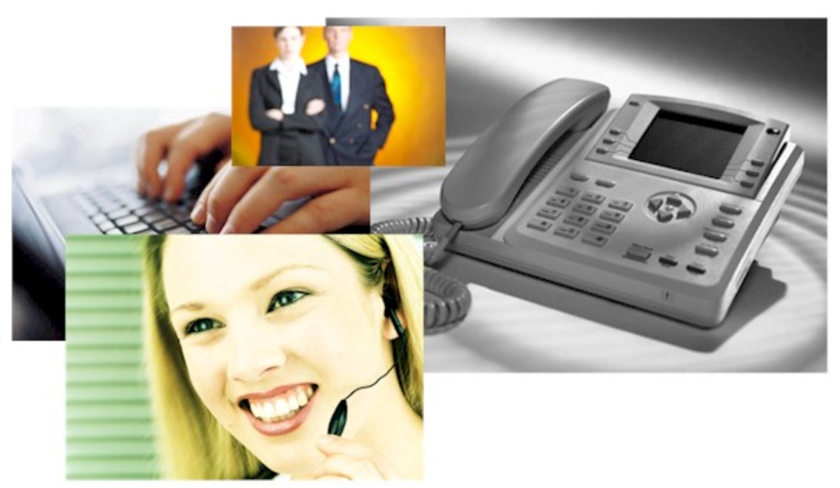 Voicemail Phone System Support for a Customer Service Desk