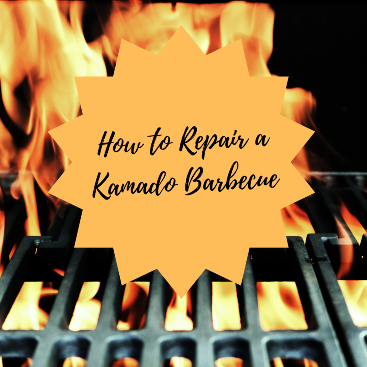 How to Repair a Kamado Barbecue When the Top Breaks