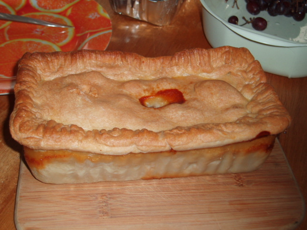 HOT WATER CRUST  THE PERFECT PIE