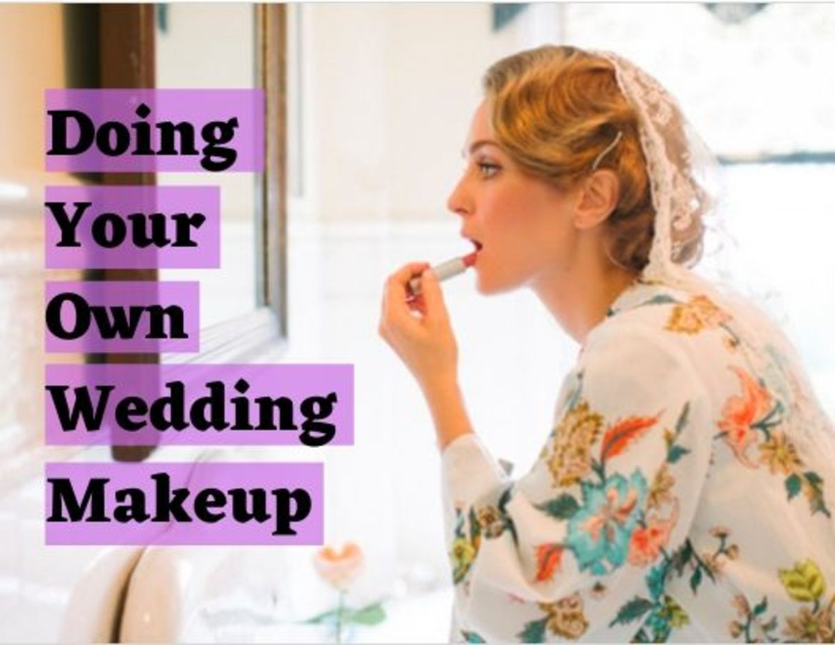 If you're particular about how your makeup is done, it might be best to do it yourself.