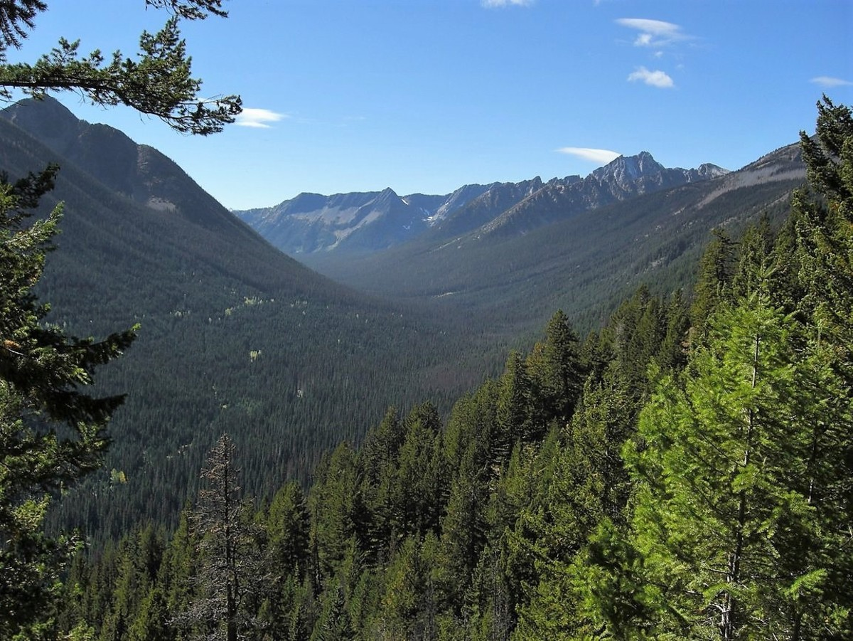 The Similkameen River Valley in Manning Park