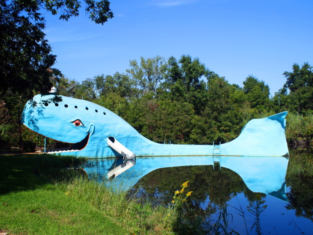 The History of the Catoosa Blue Whale in Catoosa, Oklahoma: A Whale of a Tale