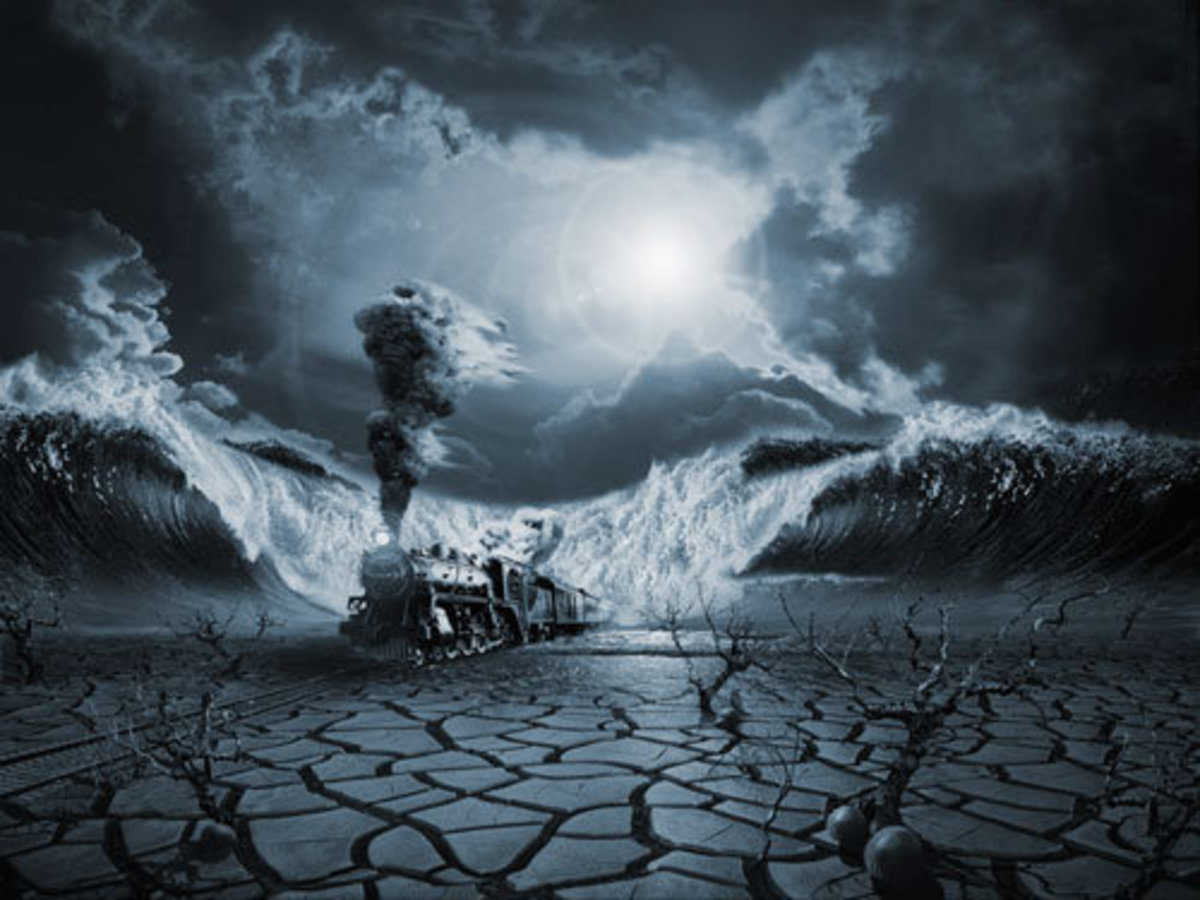A surrealist's take on panic and PTSD.
