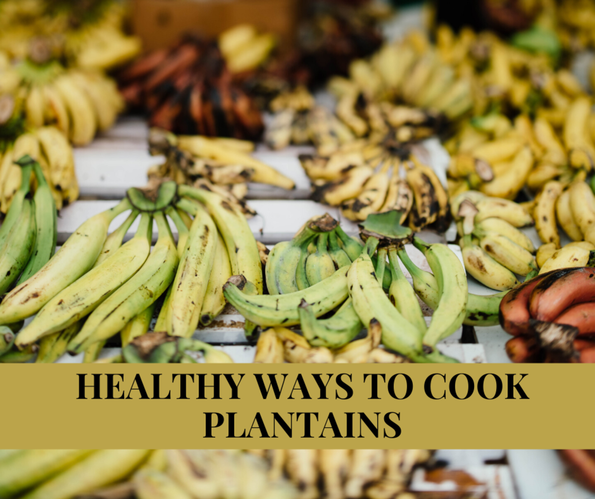 4 Healthy Ways to Cook Plantains