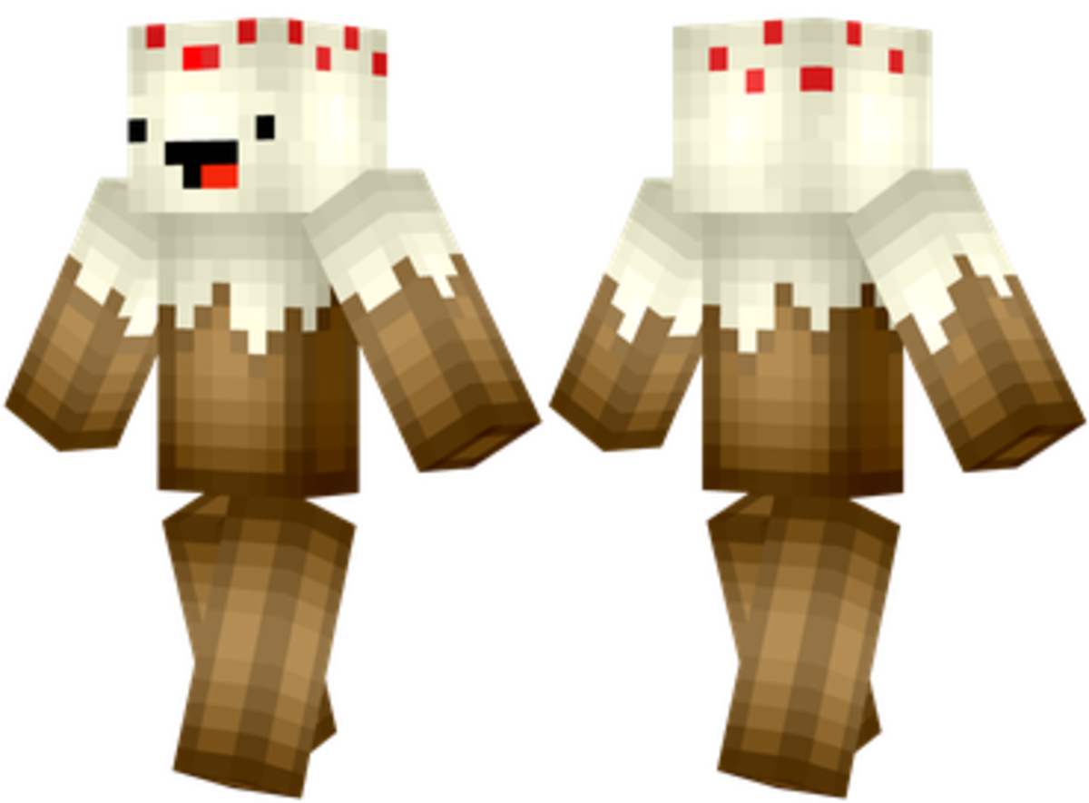 Can anyone guess what this Minecraft Skin is?