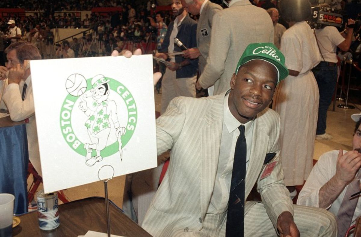 Draft day 1986. The Boston Celtics select Len Bias